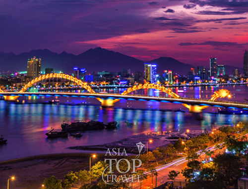Dragon Bridge in Da Nang City