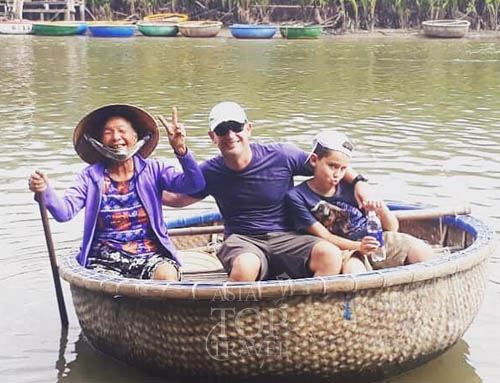 Cam Thanh Boat trip