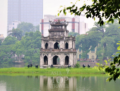 Hoan Kiem lake & Turtle tower