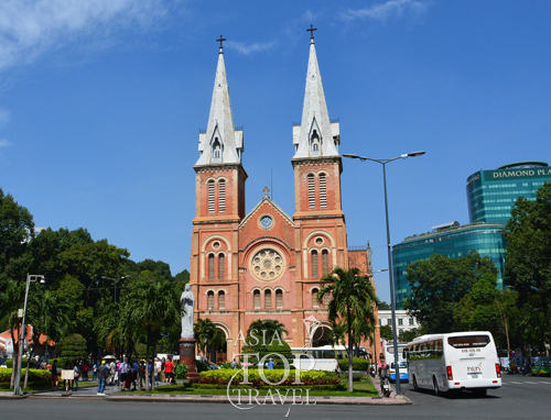 Notre Dame Cathedral in Saigon