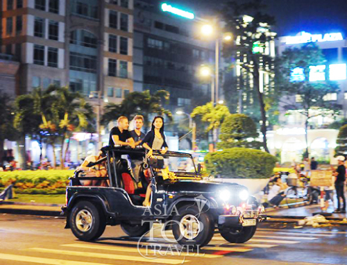 Saigon Jeep Tour By Night