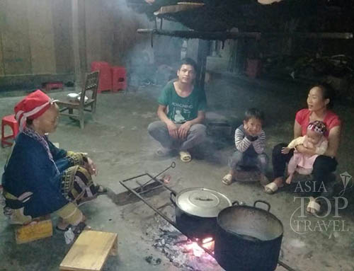 Local family in Sapa