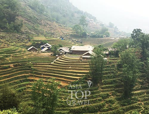 Lao Chai village in Sapa