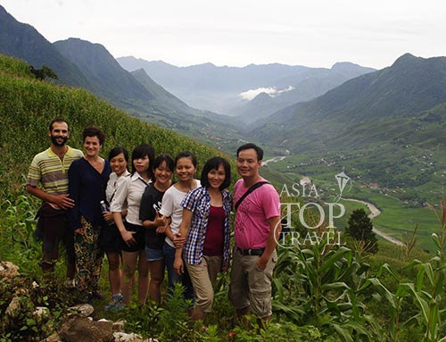Asia Top Travel team in an inspection trip to Sapa