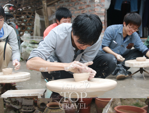 Learn to make pottery