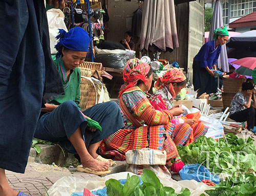 Ethnic group in Hoang Su Phi